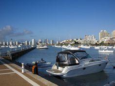 Port and Sailing Boats, Punta Del Este