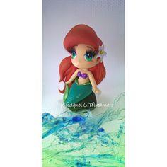 Ariel estilo nendoroid, porcela fria