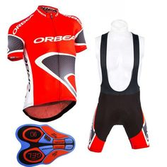 New ORBEA Cycling jersey 2017 Summer Short sleeve Breathable bicycle  Clothing Pro MTB bike maillot Ropa Ciclismo gel pad c88c95da0