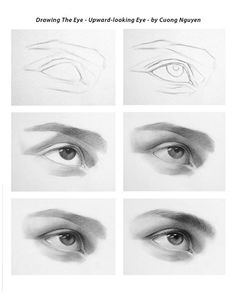 Drawing the eye step by step by Cuong Nguyen https://www.facebook.com/icuong?fref=photo
