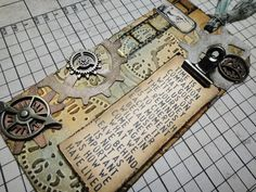 12 Tags of 2013 with @Tim Holtz #creative #inspiration