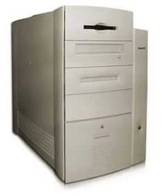 1997 Power Macintosh G3 Beige: Released November 1997, the beige Power Macintosh was the first to have the G3 PowerPC processor at either 233, 266, 300, or 333 MHz, It is the earliest Old World ROM Macintosh model officially able to boot into Mac OS X. It was discontinued in January 1999 and replaced with the very different looking Blue & White Power Macintosh G3.