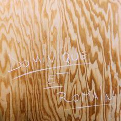 C'est nous!  #vsco #vscocam #wood #woodworking #plywood #batipin #mobilier #surmesure #design #interiors #interiordesign #bespokefurniture #bespoketailoring #tailormade #furniture #paris by dominique_et_romain