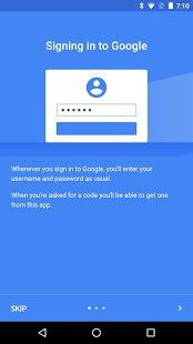 Google Authenticator: miniatura da captura de tela