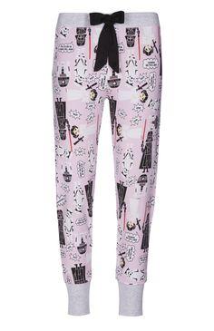 Legging de pyjama rose motif Star Wars
