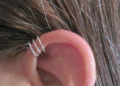 Buy 2, Get One FREE - Triple Band Ear Cuff - No Piercing Cuff