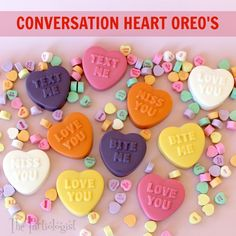 The Partiologist: Conversation Heart OREO'S!