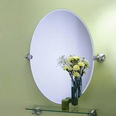 @SaraBeth Colter What do you think about this? Gatco Charlotte Oval Mirror