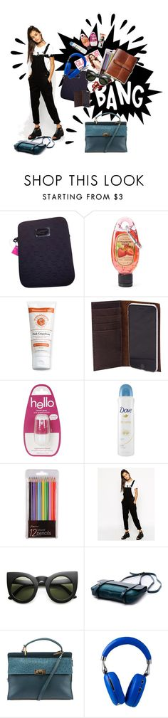 """""""In my bag"""" by kiera-jay ❤ liked on Polyvore featuring Marc Jacobs, Simple Pleasures, Topshop, Dove, ASOS, Balenciaga, Old Navy and inmybag"""