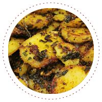 Bengali potatoes are the best!