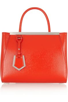 Givted- 2jours small textured patent #leather #shopper