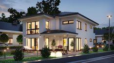 Picture consequence for stadtvilla rectangular - Corbusier Modern Garden Design, Modern House Design, Future House, My House, Model House Plan, Dream House Exterior, Modern Farmhouse Style, Facade House, House Goals