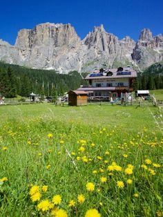 Sella Pass, Trento and Bolzano Provinces, Italian Dolomites, Trentino alto Adige  region