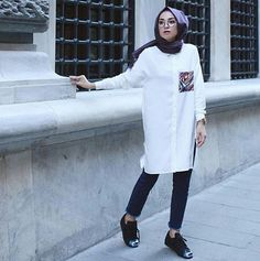 Genç Tesettür Modern Hijab Fashion, Street Hijab Fashion, Islamic Fashion, Muslim Fashion, Modest Fashion, Easy Hijab Style, Hijab Style Dress, Casual Hijab Outfit, Hijab Moda