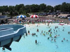 Summertime fun in Hartville, Ohio at Clearwater RV Park, Campground & Water Park