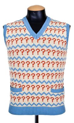 Doctor Who: Seventh Doctor's Jumper/Vest Do you love to solve riddles and answer questions, just like the Seventh Doctor? If so, then this is the Jumper (or is it a vest?) is for you!