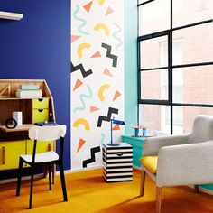 El estilo Pop Art es ideal para llenar de color e imaginación la habitación de los más pequeños