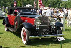 1930 Cadillac V-16 Murphy convertible sedan