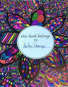 ColorIt Colorful Flowers Volume 1 Colorist: LeiLoni Dearinger #adultcoloring #coloringforadults #adultcoloringpages #flowers