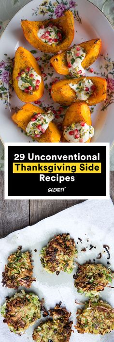 Turkey, schmurkey. It's all about the sides. #healthy #thanksgiving #sides http://greatist.com/eat/thanksgiving-side-dishes-that-shake-things-up