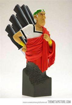 Julius Caesar knife case…