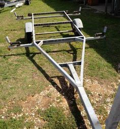 Convert trailer for kayaks topic converted jet ski for Used fish finders craigslist