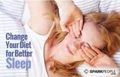 Sleep Better Tonight with these Nutrition Tips & Supplements #riseandshine | via @SparkPeople