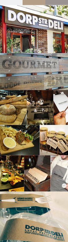 Toast created the logo, outdoor sigange, designed wooden engraved signages for the entrance, a lasercut signage for the Black Board, all of which translated to business cards, Menus, Embroidered aprons and Food tags. Finally we created die-cut Paper wraps for the take-away packages, with a black self-inking stamp to finish off the look.