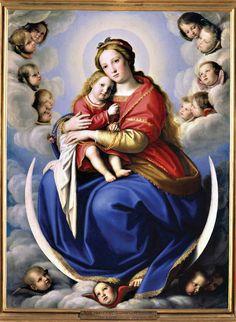 Sassoferrato (Giovanni Battista Salvi), Madonna and Child (Madonna col Bambino), ca. 1650