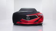 Acura Future Vehicles Precision Concept unveiling car at 2016 NAIAS conference