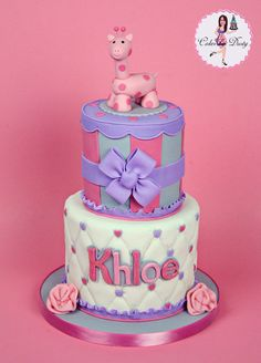 Great cake for baby showers or birthday.