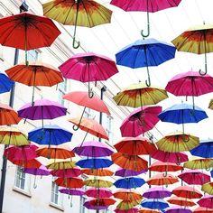 Kann man auch gut bei Sonne gebrauchen - der Regenschirm hat heute seinen Tag  #EIZRostock #regenschirm #Dienstag #li #rostock #mv