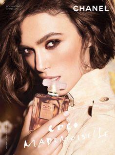 Chanel Coco Mademoiselle with Keira Knightley smelllls soooo gooooddd