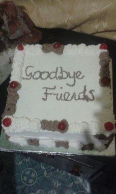 Sweet departure