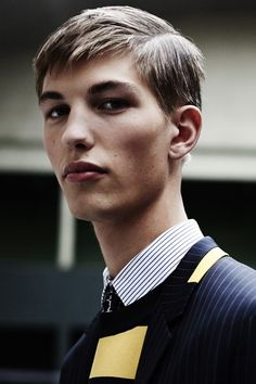 Kevin Carlbom by Raffaele Cariou - Backstage at Dior Homme, SS15