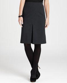 Petite Timeless A-Line Ponte Skirt