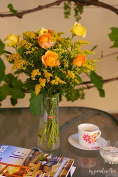 "BUN VENIT,DRAGI PRIETENI VIRTUALI DE PRETUTINDENI! – Anitanna's Blog la Cafeneaua ""Trandafirul rosu"" My Flower, Flower Arrangements, Cactus, Table Decorations, Home Decor, Embroidery, Floral Arrangements, Decoration Home, Room Decor"