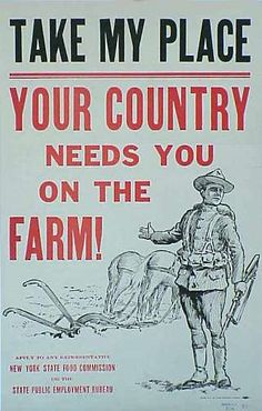 where people addicted to Farmville already during WW1?