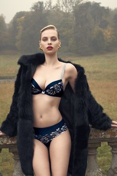 Dioni Tabbers In Aubade Lingerie Fall/Winter 2013/2014 Pt 2