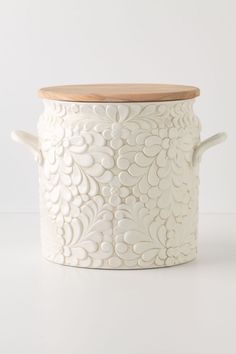 Verdant Bread Bin - anthropologie.com I'm in love ~