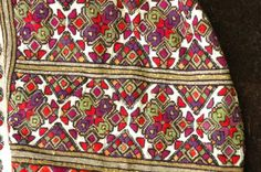 Фрагмент сорочки. Кін. ХІХ ст. Буковина. Фонди ЧМНАП Traditional Outfits, Old And New, Needlework, Embroidery Designs, Printables, Costumes, Stitch, Culture, Clothing
