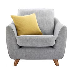 Buy G Plan Vintage The Sixty Seven Armchair, Marl Grey from our Armchairs range at John Lewis. Free Delivery on orders over Living Room Sofa, Interior Design Living Room, Living Room Decor, G Plan Sofa, Sofa Set, Sofa Design, Home And Living, Home Furniture, Furniture Chairs