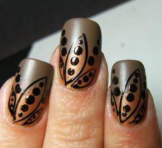 Cool nail design! #nails #design #dottingtool