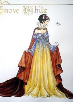 Beautiful Snow White rendition... unknown artist