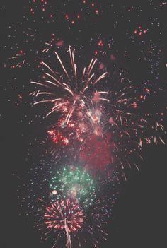 Goals: Watch fireworks with my future boyfriend