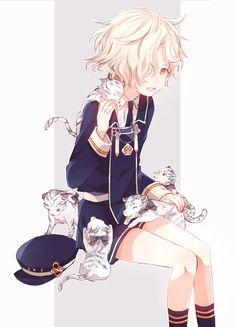 Gokotai (Touken Ranbu) Chica Anime Manga, Manga Boy, Kawaii Anime, Anime Art, Cute Anime Character, Character Art, Character Design, Touken Ranbu, Cute Anime Boy
