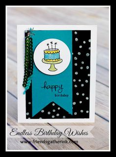 Endless Birthday Wishes stamp set from Stampin' Up! Card by Rina Meushaw