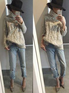 KORMARCHのニット・セーターを使ったsayakaのコーディネートです。WEARはモデル・俳優・ショップスタッフなどの着こなしをチェックできるファッションコーディネートサイトです。 Daily Fashion, Love Fashion, Fashion Beauty, Womens Fashion, Autumn Winter Fashion, Spring Fashion, Clothes Encounters, Fashion Images, Minimalist Fashion