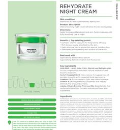 Age defying rehydrate night cream. #seacret #agedefying