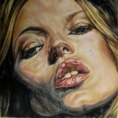 Kate Moss by Lucian Freud Lucian Freud Portraits, Lucian Freud Paintings, Dr Sigmund Freud, Lucian Freud Kate Moss, Antoine Bourdelle, Artists And Models, Art For Art Sake, Figure Painting, Woman Painting